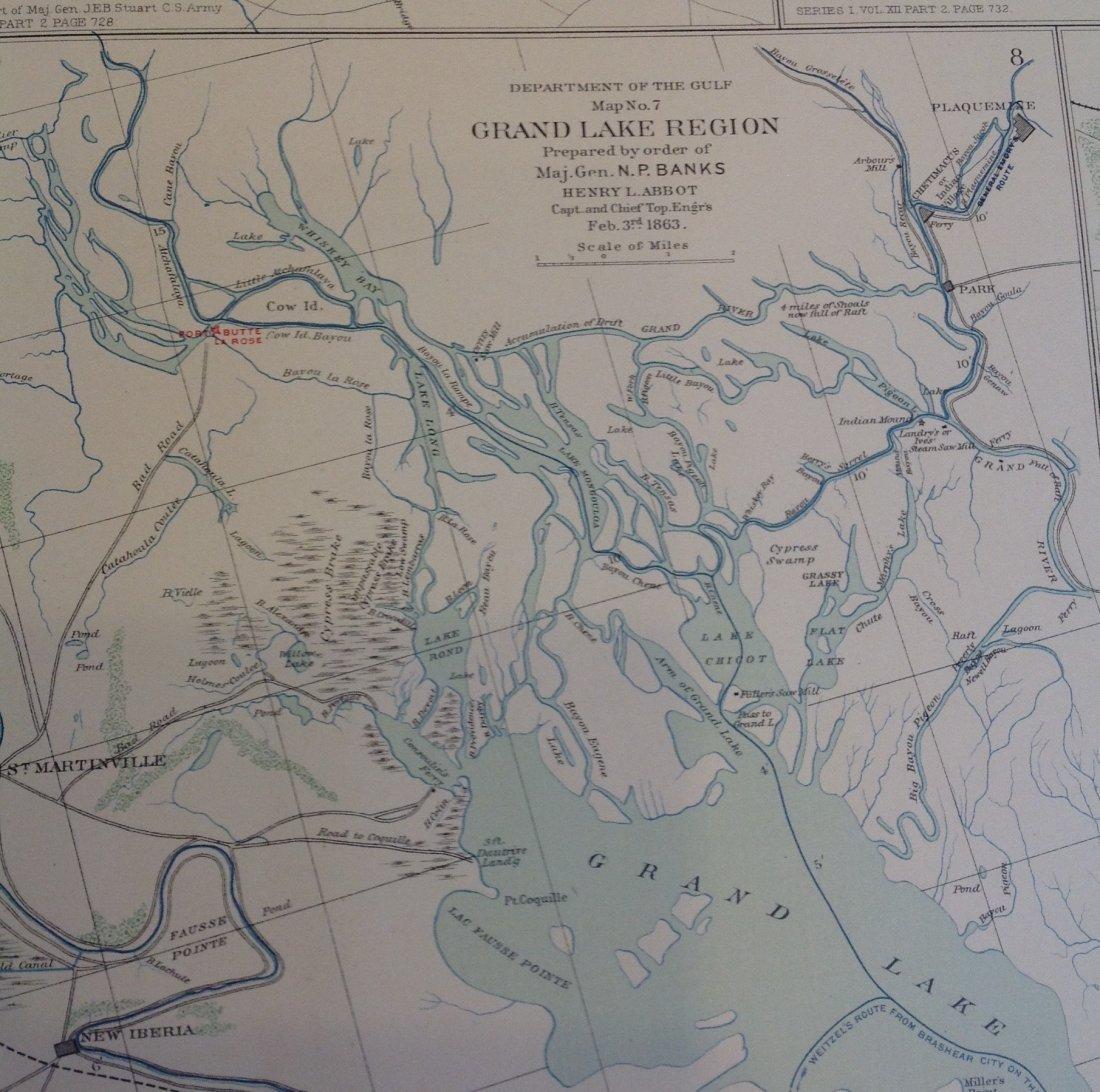 Civil War Map of Secessionville, James Island - 2