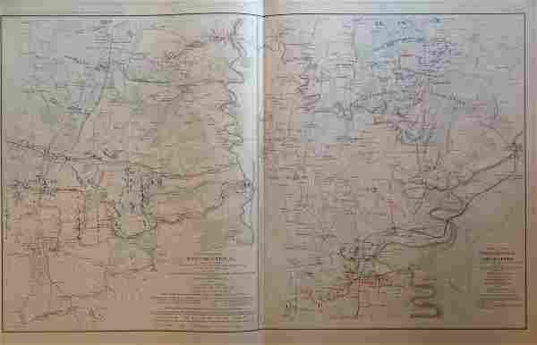 Civil War Map of Winchester, VA