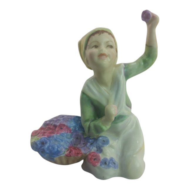 Royal Worcester Figurine: Italy