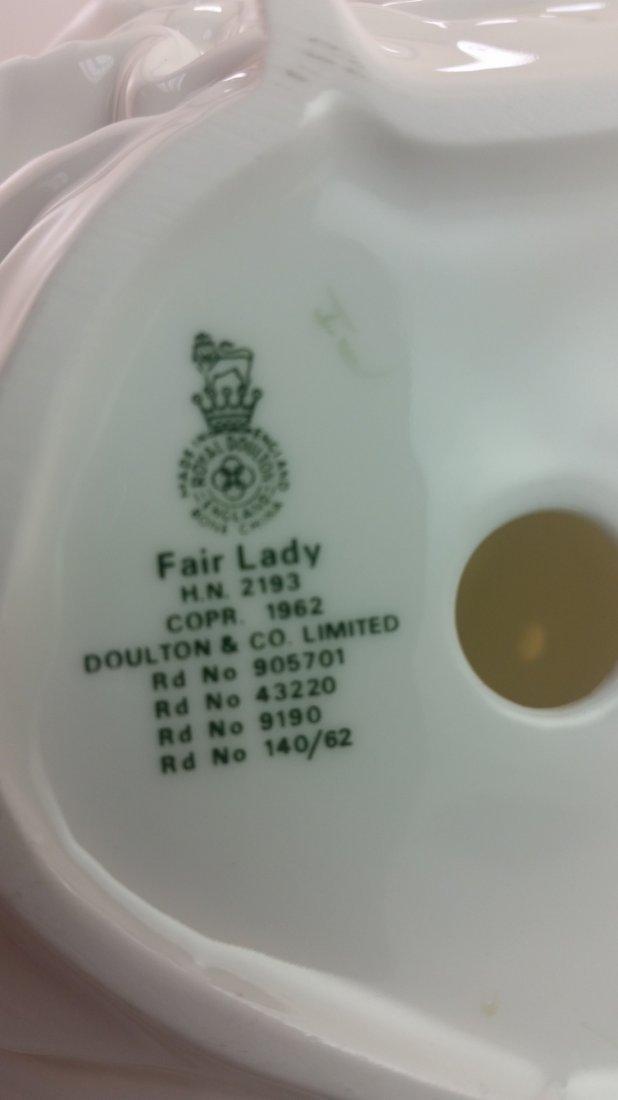 Royal Doulton Figurine: Fair Lady - 3