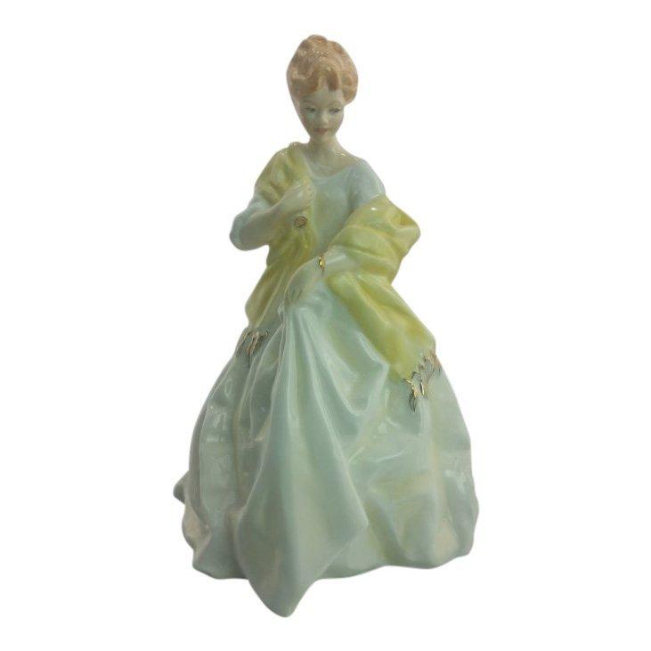 Royal Worcester Figurine: First Dance