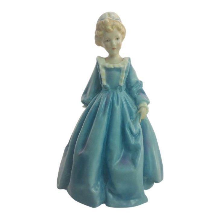 Royal Worcester Figurine: Grandmother's Dress