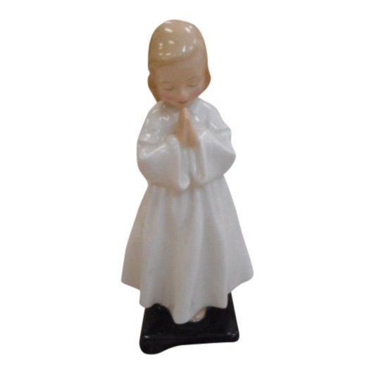 Royal Doulton Figurine: Bedtime, Girl Praying