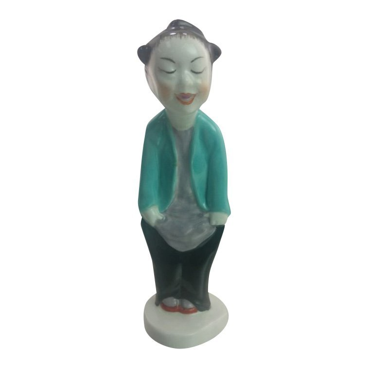 Royal Worcester Figurine: Chinoiserie Boy