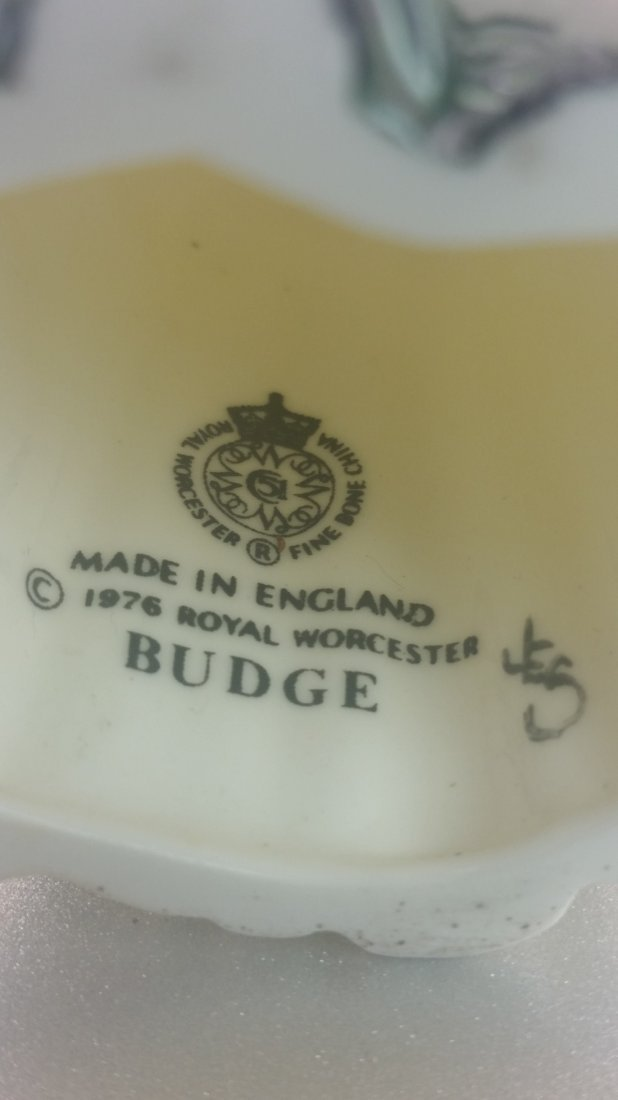Royal Worcester Figurine: Budge, Candle Snuffer - 3