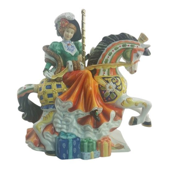 English Ladies Company Figurine: Christmas Carousel
