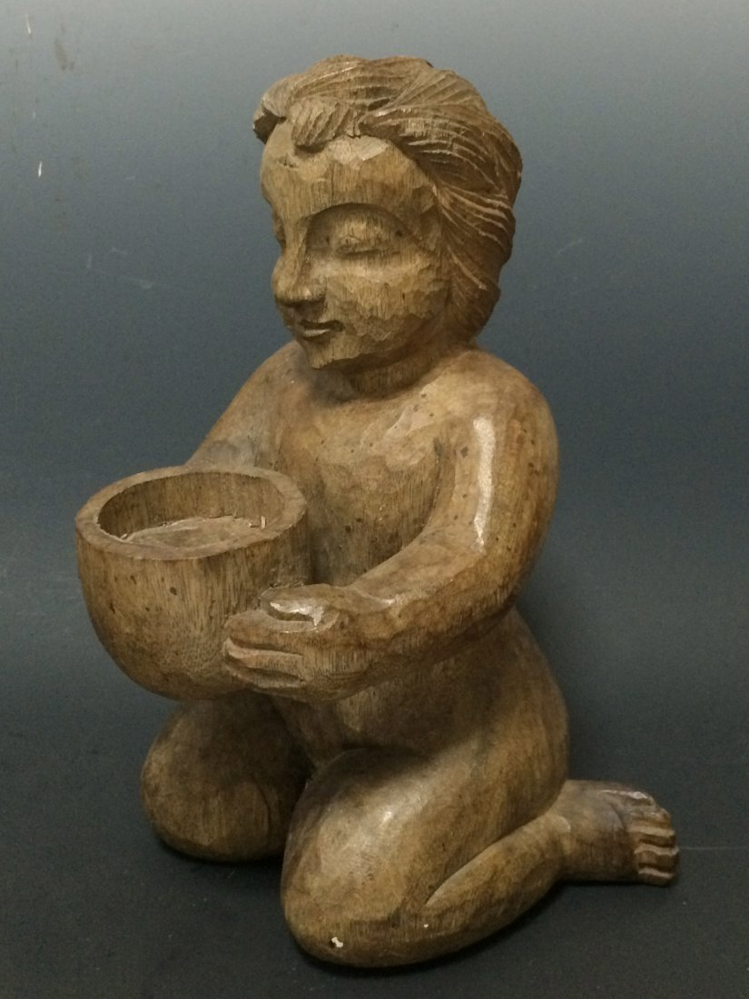 Child Holding a Bucket - 4