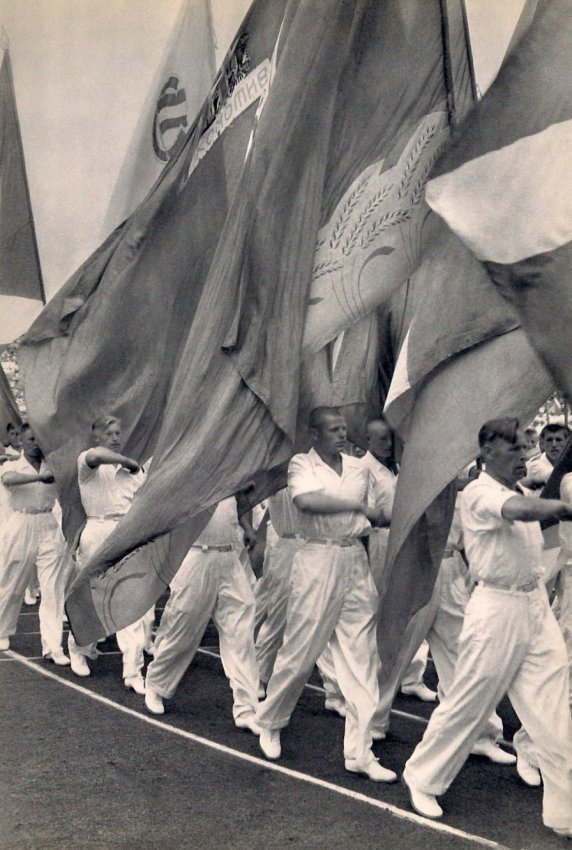 Cartier-Bresson: Sports Parade in Moscow