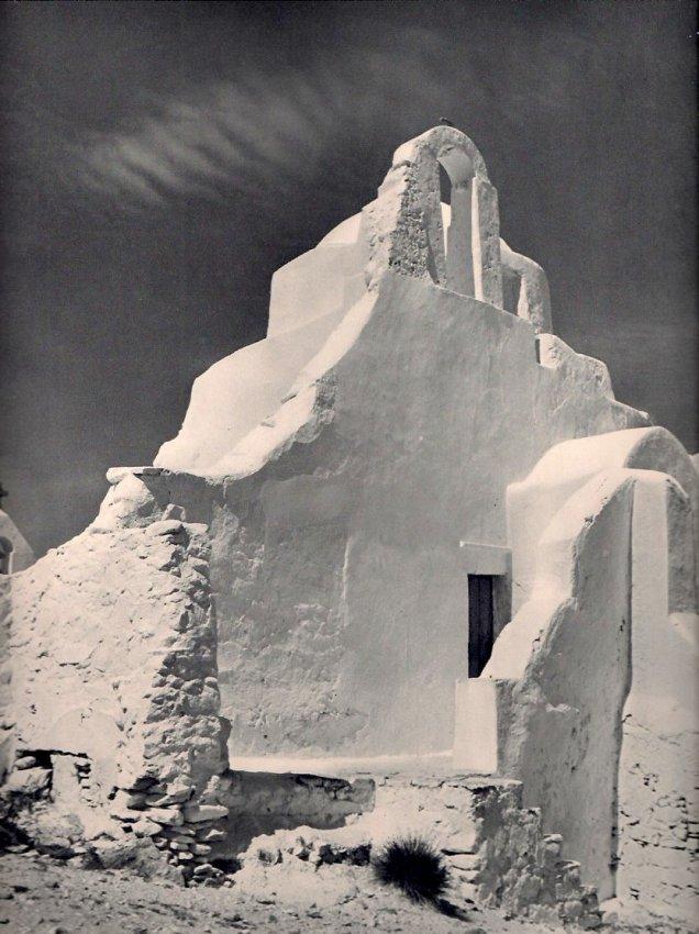 Marcel Gautherot: Eglise a Mykonos (Grece)