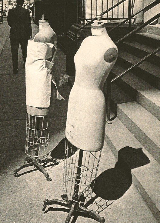 Andre Kertesz: Dress Forms NYC 1965