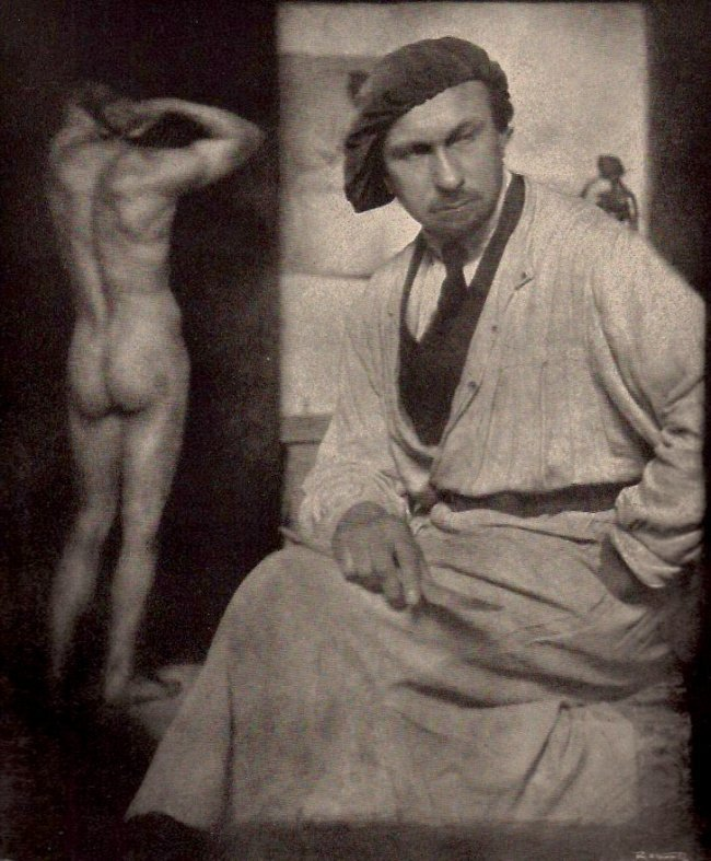 Rudolf Koppitz: Der Bildhauer