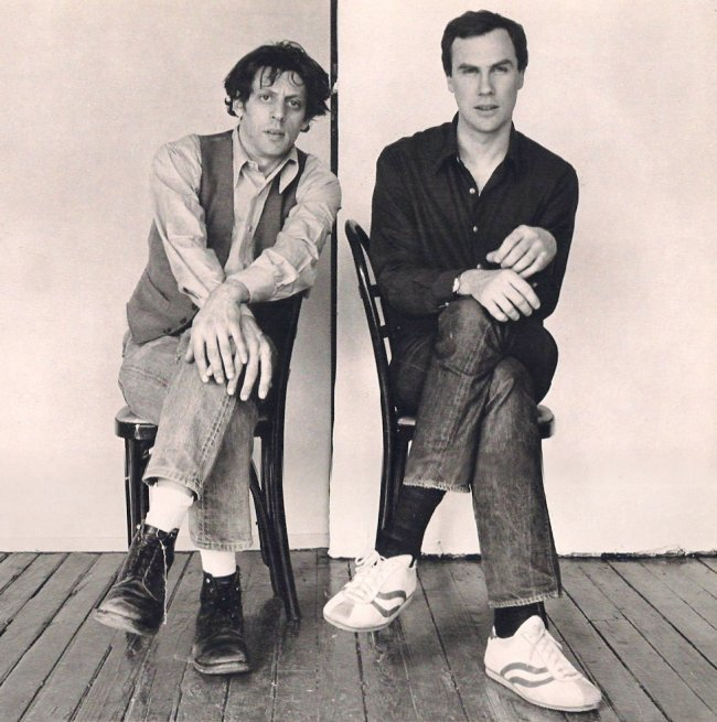 Mapplethorpe: Philip Glass and Robert Wilson, 1976