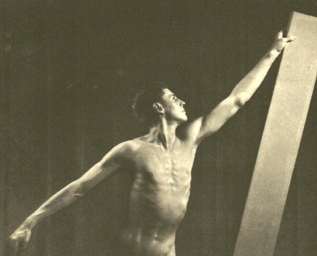 Fred Peel: Male Nude