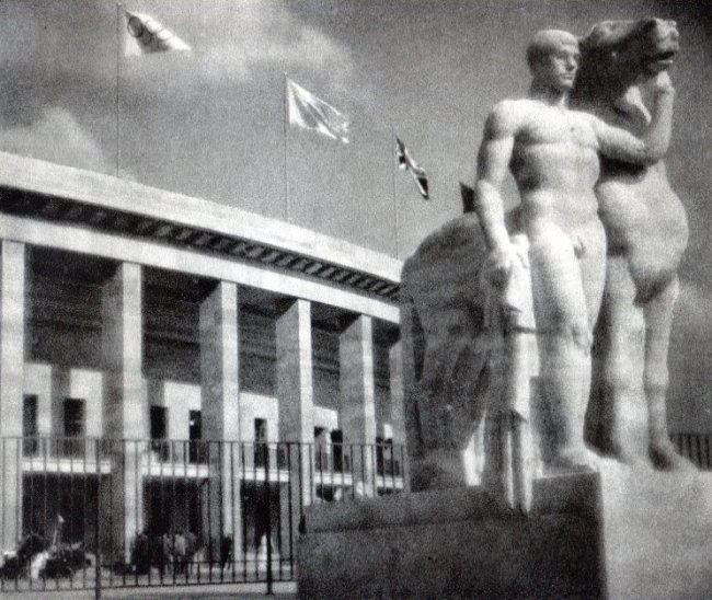 Leni Riefenstahl: Sculpture at the Stadium