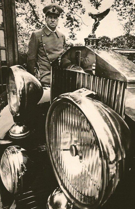Jeanloup Sieff: Chauffer, Rolls Royce
