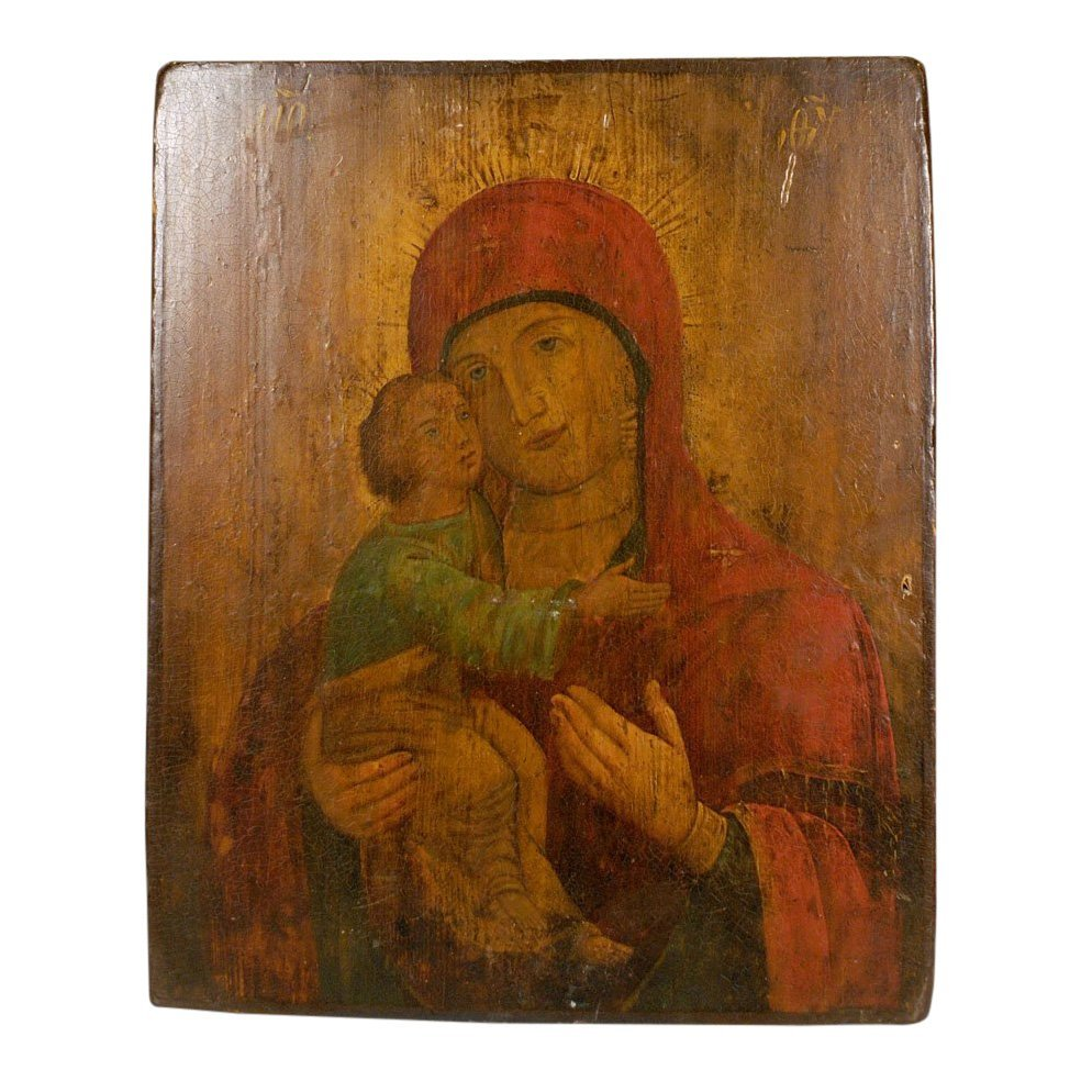 Ukrainian Icon: Our Lady of Vladimir