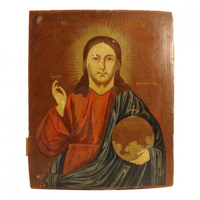 Ukrainian Icon: Christ Emmanuel