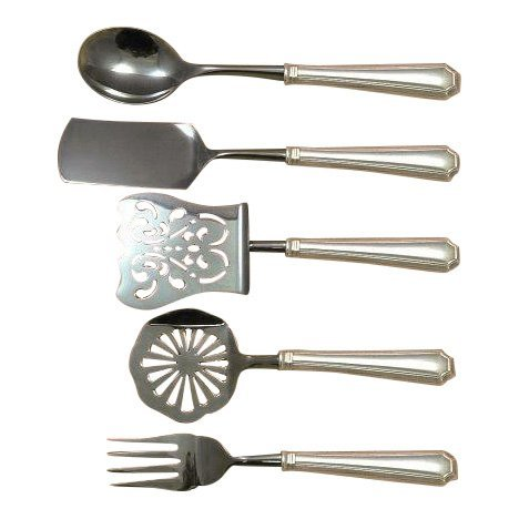 Fairfax by Gorham Sterling Brunch Serving Set, 5pc