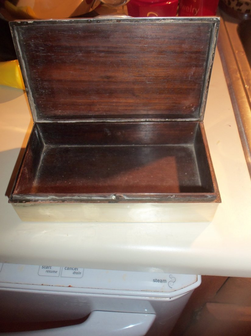 Large Engraved Chinese Export Silver Box - 5