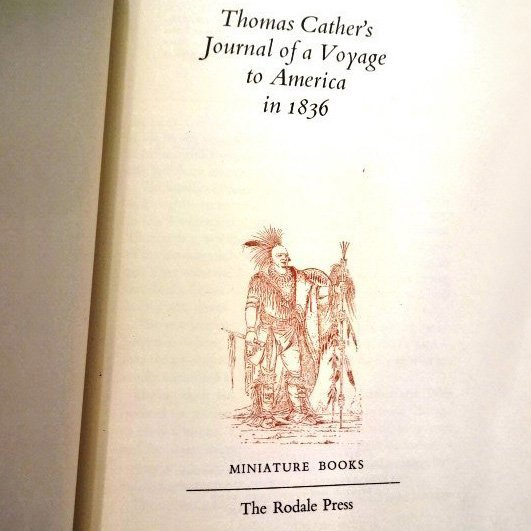 Thomas Cather's Journal of a Voyage to America