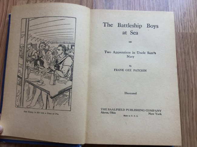 The Battleship Boys at Sea by Frank Gee Patchin - 2