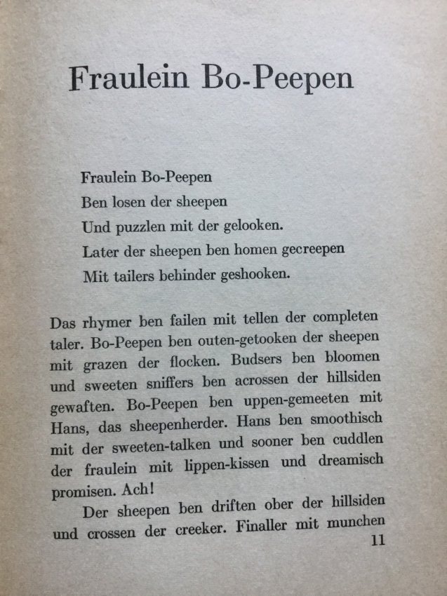Fraulein Bo-Peepen and More Tales by Dave Morrah - 4