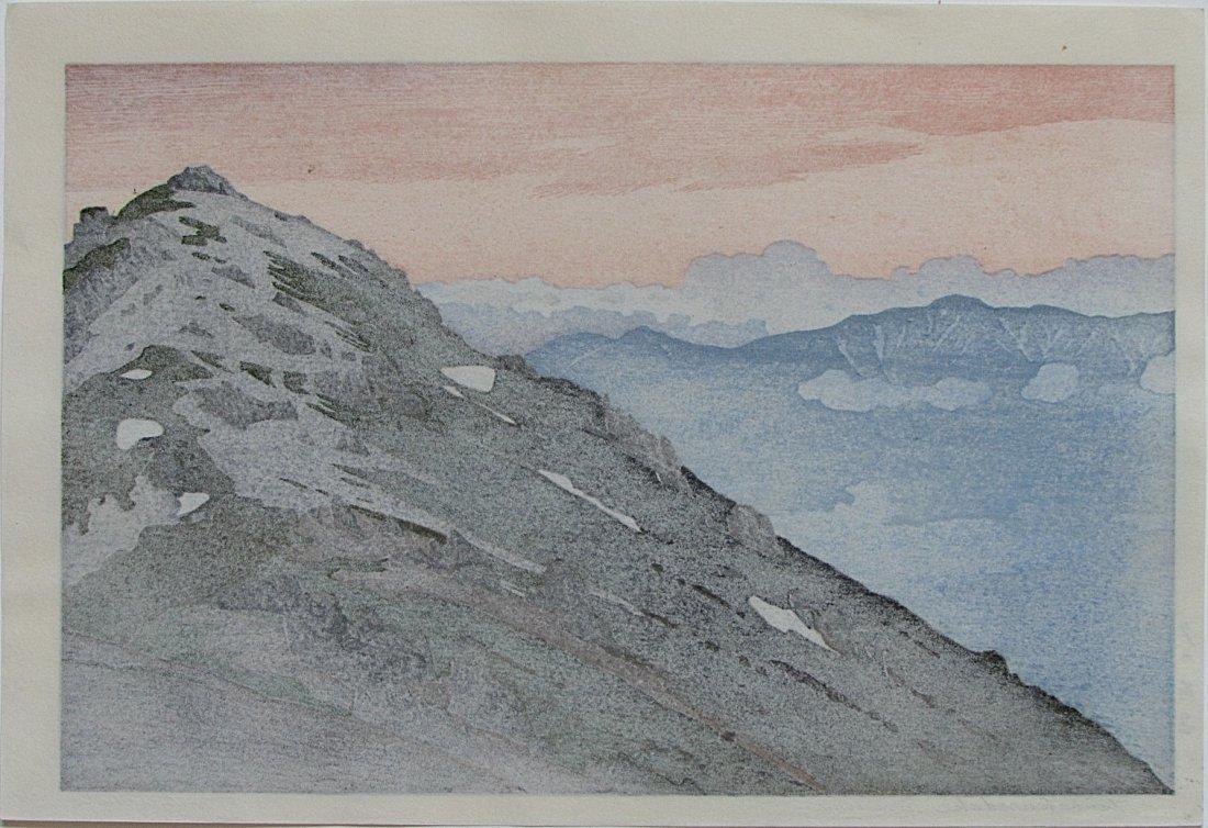 Toshi Yoshida - Tsubakorodake, Evening - 2
