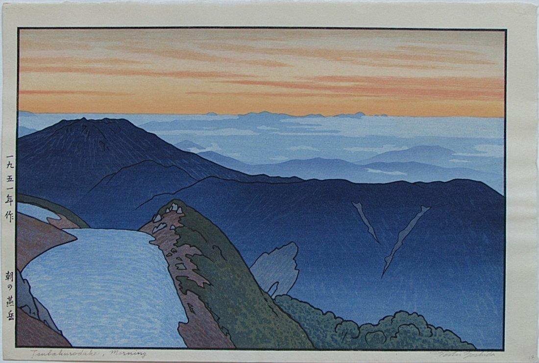 Toshi Yoshida - Tsubakorodake, Morning