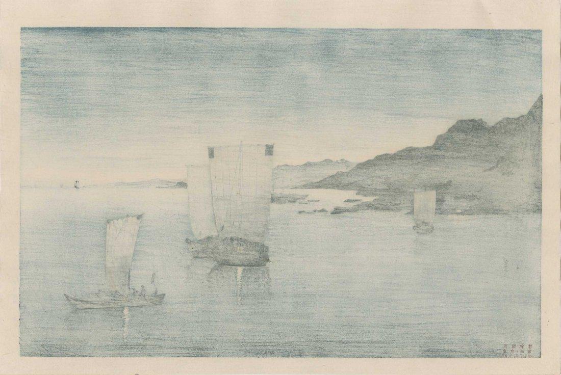Kason Suzuki - Evening View of Kominato Bay - 2