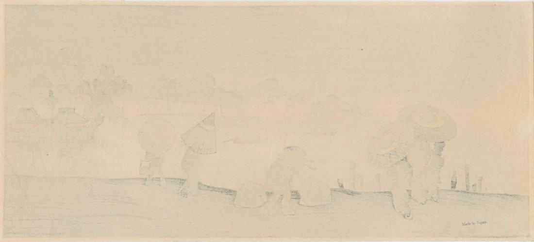 Shoun Yamamoto - Riverside Landscape in Rain - 2