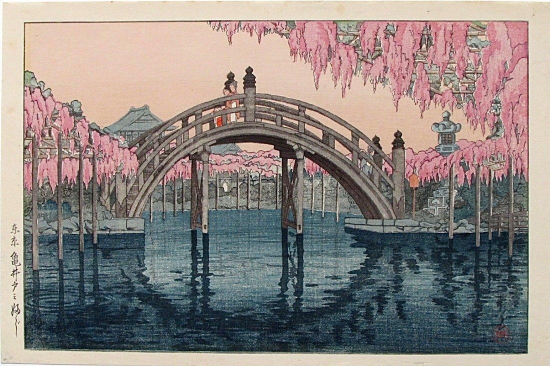 Nishimura Hodo - Kameido Bridge