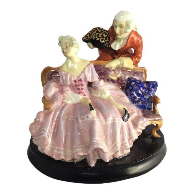 Royal Doulton Figurine: Tete-a-Tete