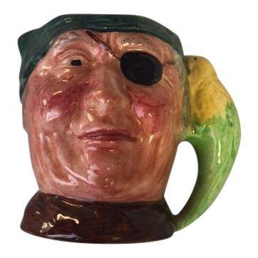 Vintage Mini Long John Silver Toby Mug