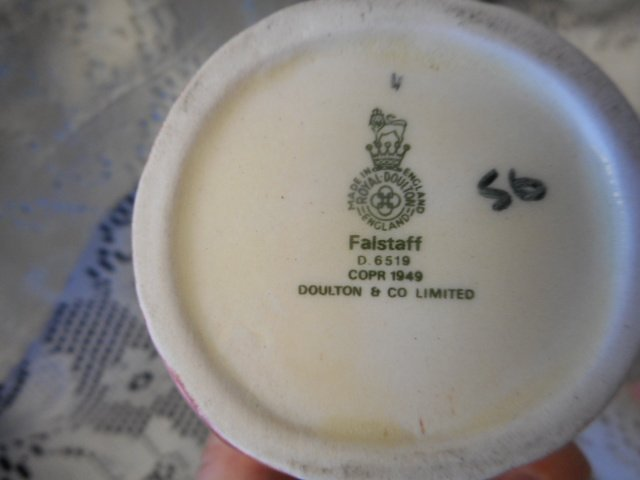 Falstaff Mini Royal Doulton Mug - 3