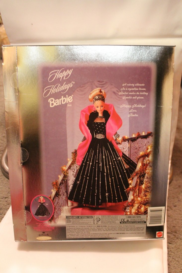 Happy Holidays Special Edition Barbie, 1998 - 2