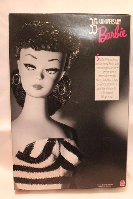 35th Anniversary Barbie, Brunette - 2