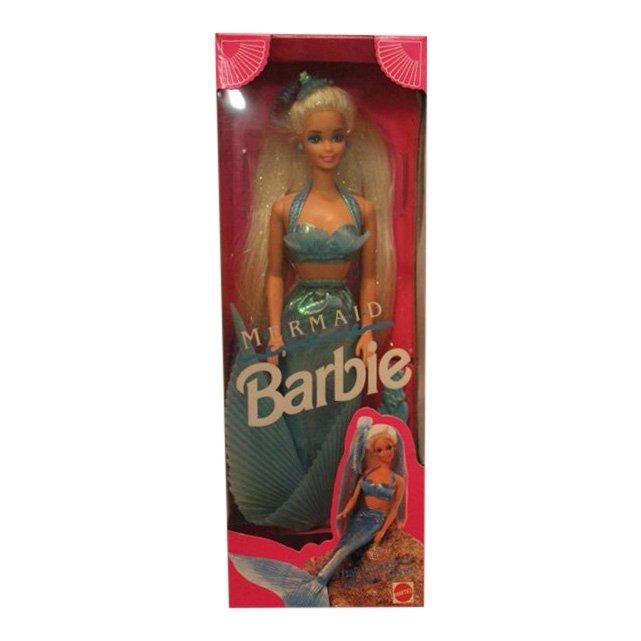 Mermaid Barbie, 1991
