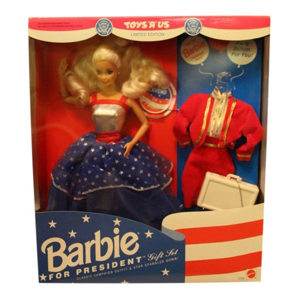 Barbie for President Limited Edition Gift Set