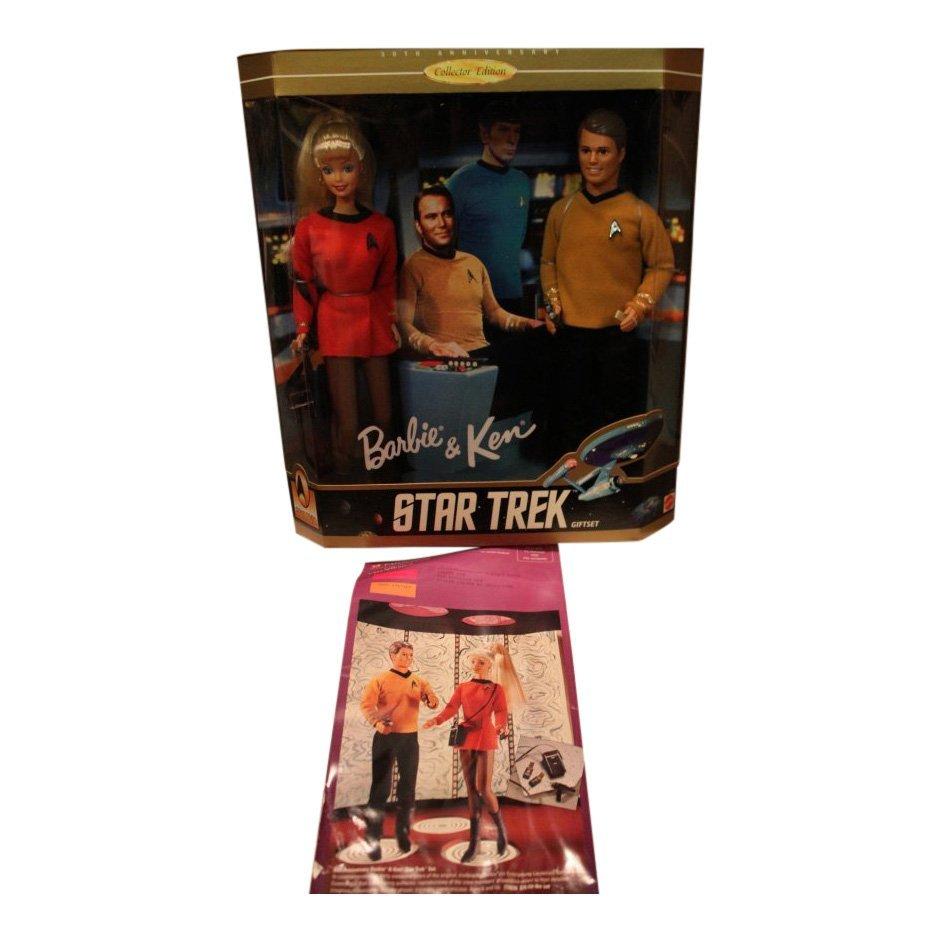Barbie and Ken Star Trek Giftset, 1996