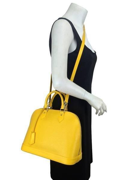 Louis Vuitton Epi Leather Alma PM Bag - 2