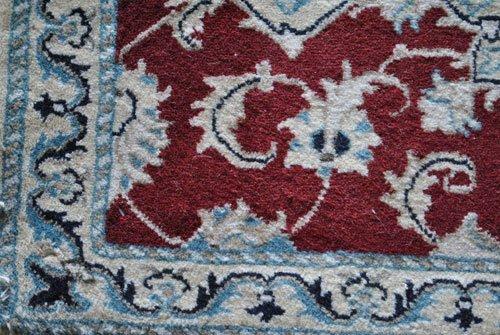 Persian Nain Wool Rug, 1.10 x 2.10 feet - 3
