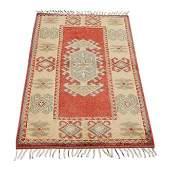Turkish Konya Wool Rug 4x2