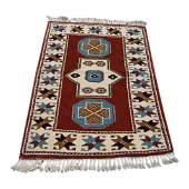 Turkish Konya Wool Rug, 3x4