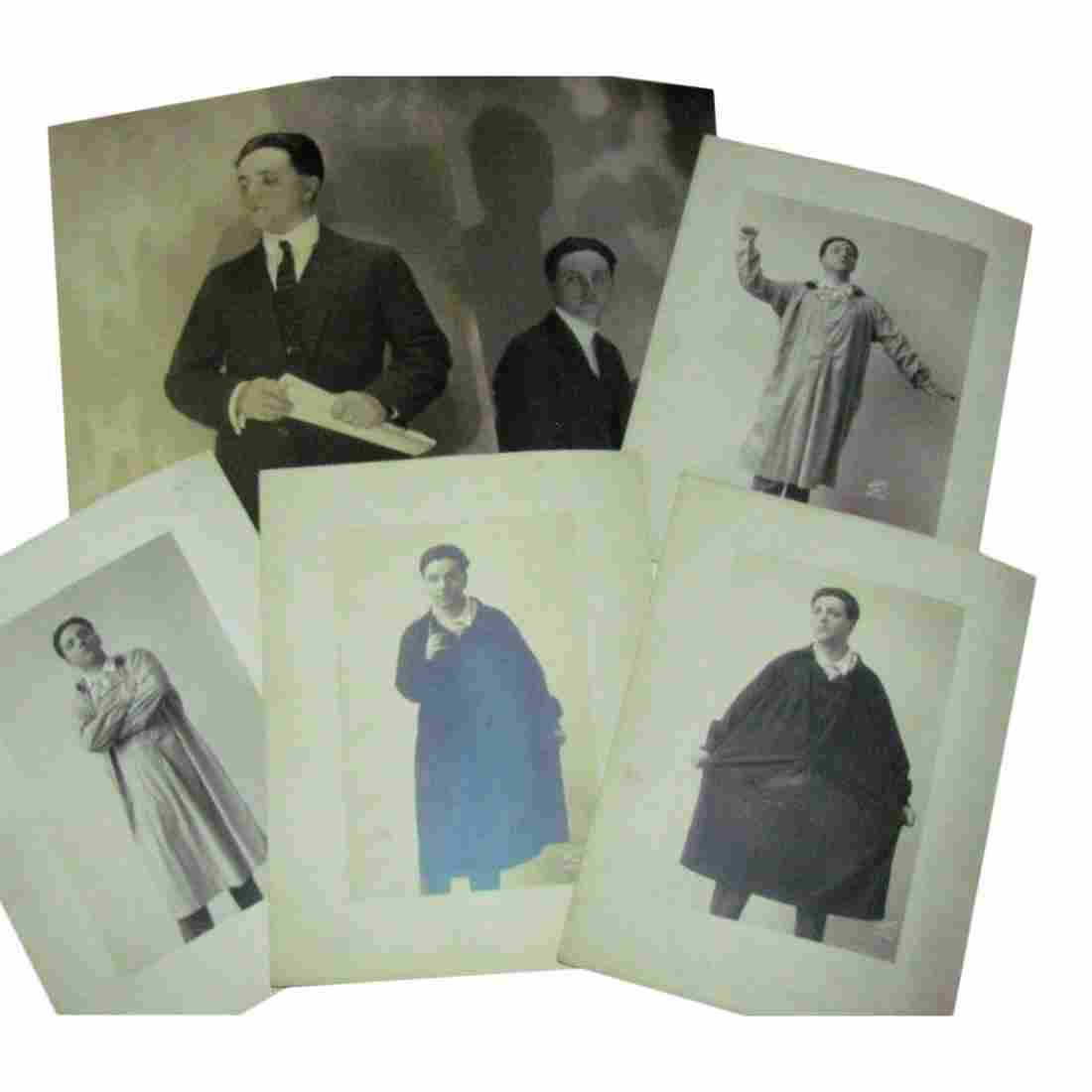 Lot of 6 Vintage Photos: Singer Cecil Fanning, 1925