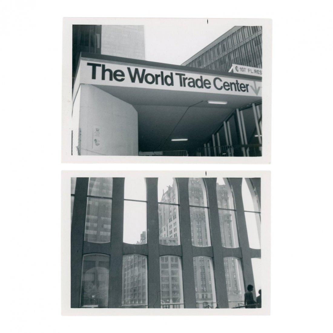 Lot of 14 World Trade Center Photos, 1970's