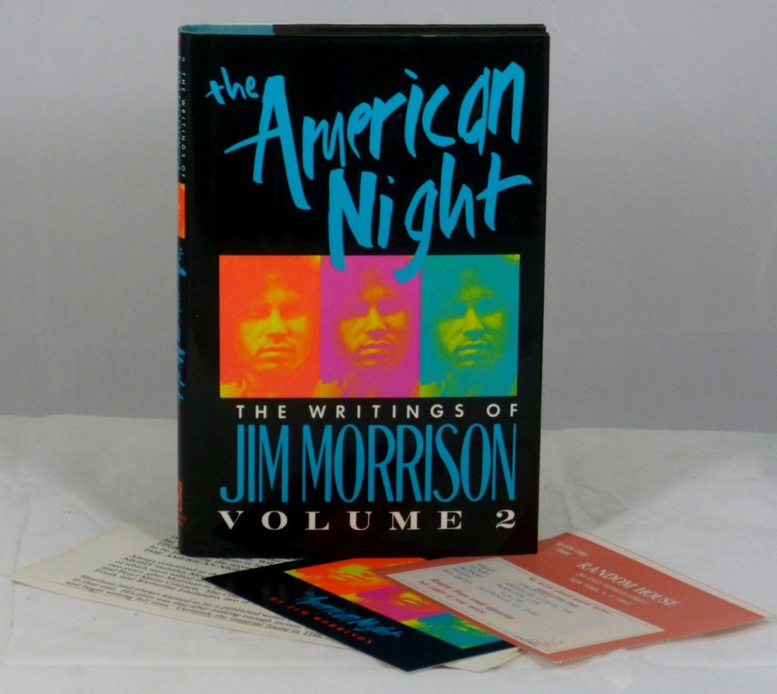 The American Night: The Writings of Jim Morrison Vol 2