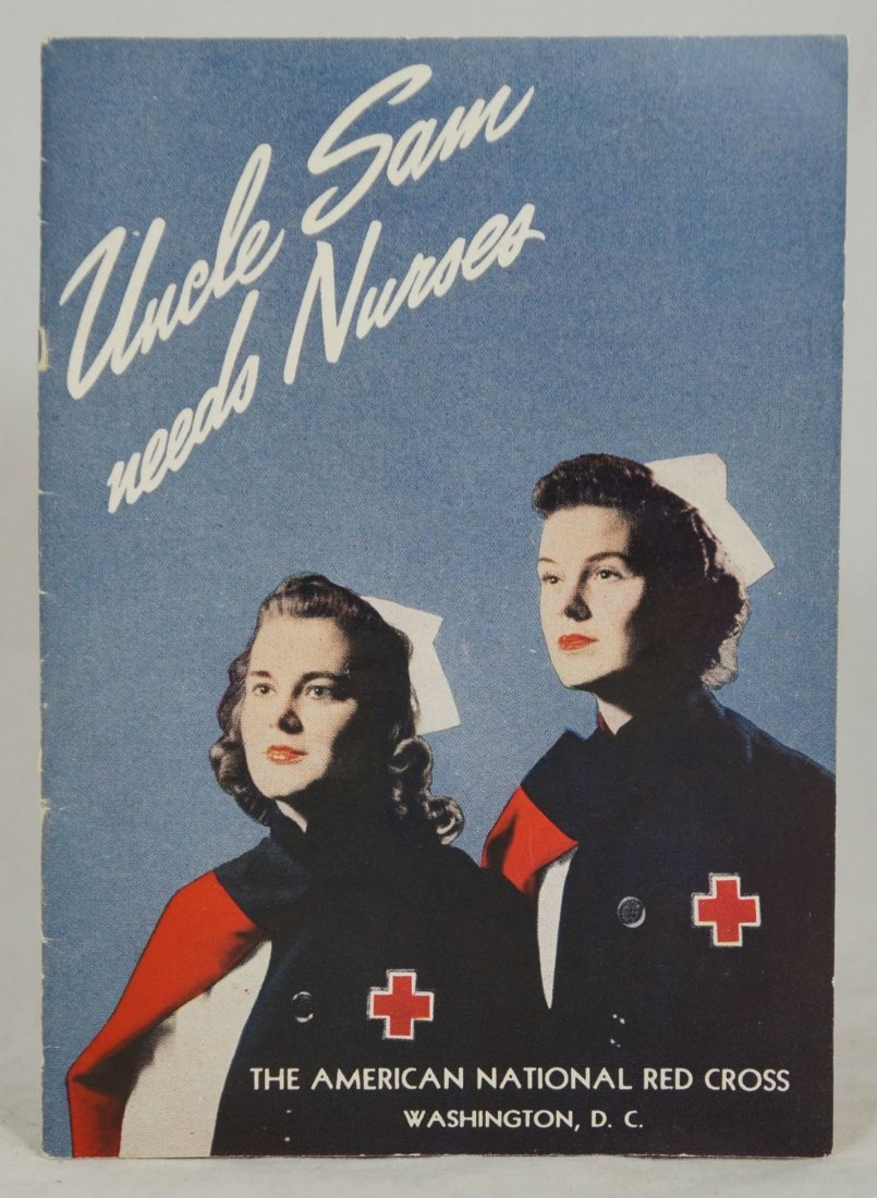 Uncle Sam Needs Nurses by Mary Beard