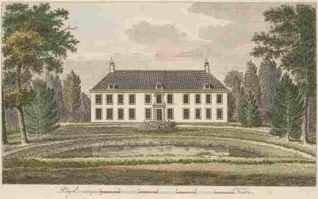 Magazyn van Tuin Sieraaden, 1800