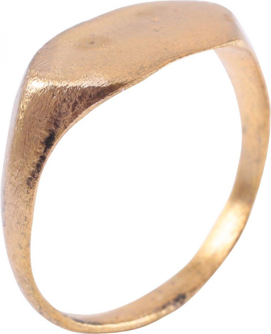 Bronze Viking Man's Ring, 850-1050 A.D. - 3