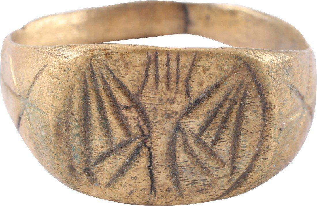 Bronze Viking Seaman's Ring, 850-1050 A.D.